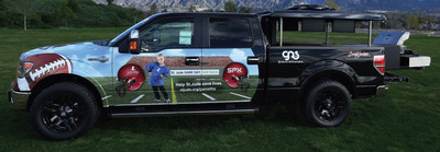 """SPX Corporation will donate a customized 2013 Ford F-150 to be auctioned off at the 2013 Barrett-Jackson Collector Car Auction on January 18, 2013, in Scottsdale, Ariz. All proceeds from the """"Ultimate Tailgate Truck"""" will benefit St. Jude Children's Research Hospital. (PRNewsFoto/SPX Corporation) (PRNewsFoto/SPX CORPORATION)"""