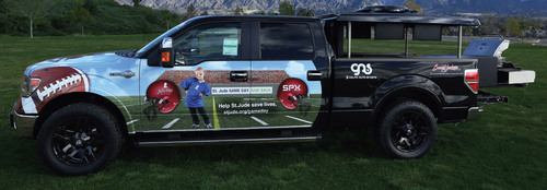 SPX Corporation will donate a customized 2013 Ford F-150 to be auctioned off at the 2013 Barrett-Jackson ...