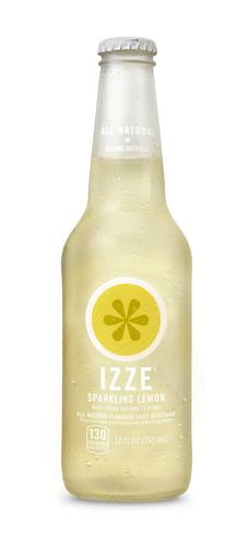 Izze Beverage Company is celebrating its 10th anniversary with the return of Izze Sparkling Lemon -- a fan favorite.  (PRNewsFoto/IZZE(R) Beverage Company)