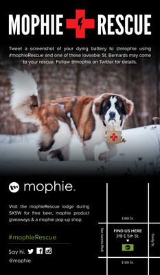 mophieRescue at SXSW 2015