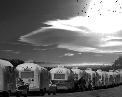 Airstream Visions and A Book to be Burned.  (PRNewsFoto/Morris Matthews)