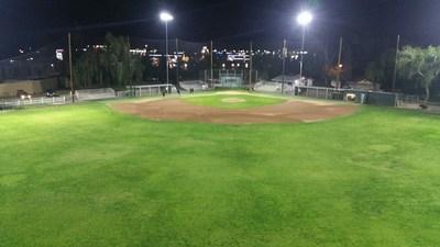 Maverick Field - West Covina, CA Amatuer Baseball, Big League Lighting