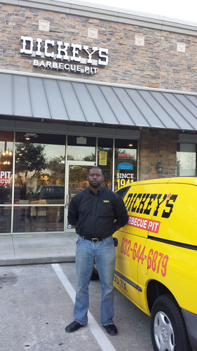 Dickey's Barbecue Pit Owner Gregg McCardle  (PRNewsFoto/Dickey's Barbecue )