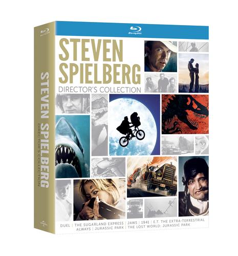 From Universal Studios Home Entertainment: Steven Spielberg Director's Collection (PRNewsFoto/Universal ...