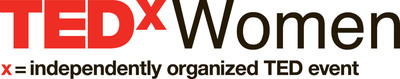 TEDxWomen Logo.  (PRNewsFoto/The Paley Center for Media)