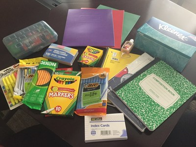 Wounded Warrior Project gave families notebooks, pens, pencils, markers, and other supplies to get children ready for the school year. It is just one way Wounded Warrior Project helps veteran families.