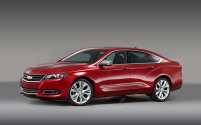 The 2014 Chevy Impala earned a top spot among sedans from Consumer Reports.  (PRNewsFoto/Bill Jacobs Automotive Group)
