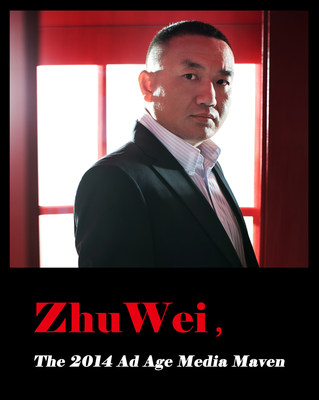 Zhu Wei, The 2014 Ad Age Media Maven