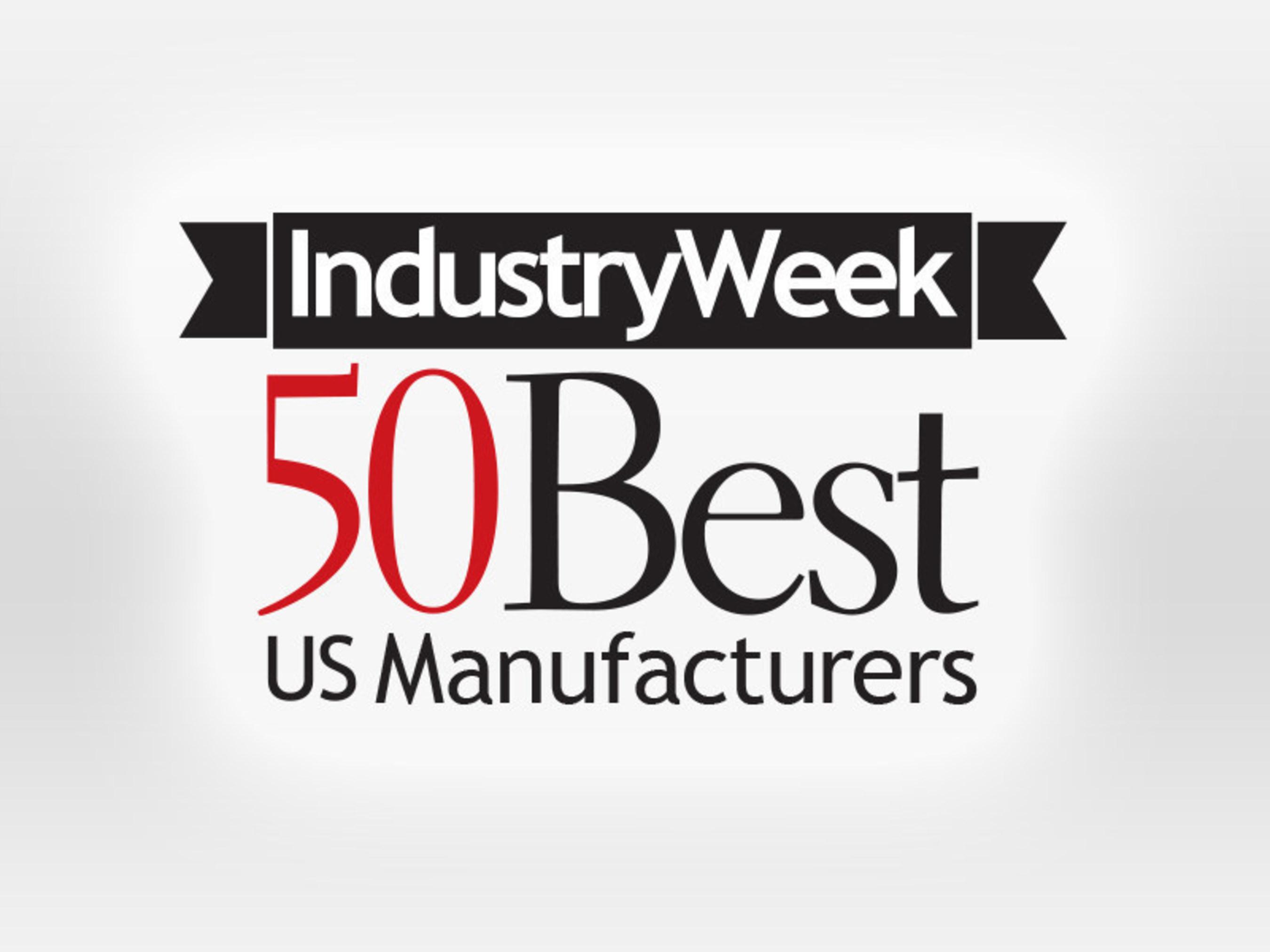 Penton's IndustryWeek Recognizes 50 Best U.S. Manufacturers