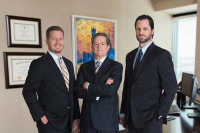 Givens Givens Sparks partners. From left to right: Chris Givens, Stann Givens, and Robert Sparks.