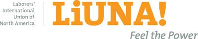 Laborers' International Union of North America Logo.  (PRNewsFoto/Laborers' International Union of North America)