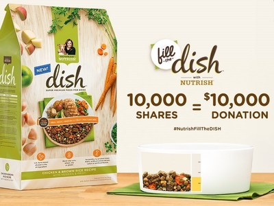 "Ainsworth Pet Nutrition Launches ""Fill the Dish"" Sweepstakes and Donation Campaign for Animal Rescue"