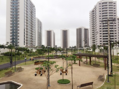 The Olympic Village for the Rio Games