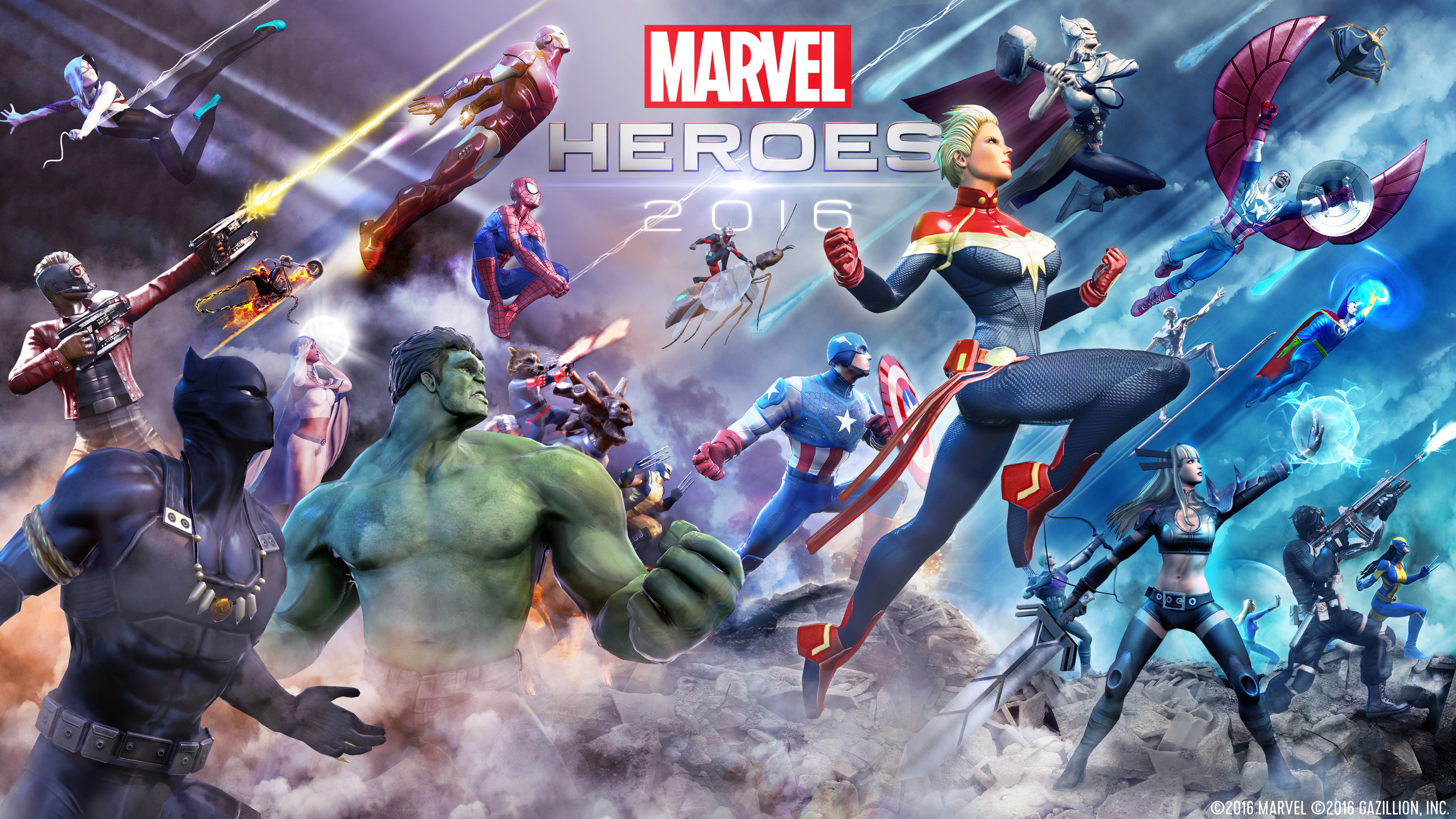 "Gazillion and Ubitus will bring the critically acclaimed action-RPG ""Marvel Heroes 2016"" to Asian territories beginning this summer, starting with Korea and moving from there to Japan and China."