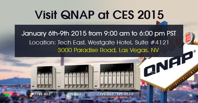 QNAP(R) Inc. is preparing to rock CES 2015 in Las Vegas with an upcoming announcement of a new line of NAS models that mark the launch of a special new AMD(R) processor with some specialized circuitry for hardware-based video encoding/decoding based on the famed Radeon(R) graphics architecture.