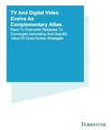 "Independent, commissioned study conducted by Forrester Consulting on behalf of Videology entitled, ""TV And Digital Video Evolve As Complementary Allies."""
