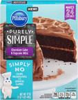 Pillsbury Purely Simple Chocolate Cake & Cupcake Mix.