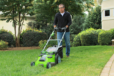 GreenWorks Brings Innovation To Battery-Powered Outdoor Equipment