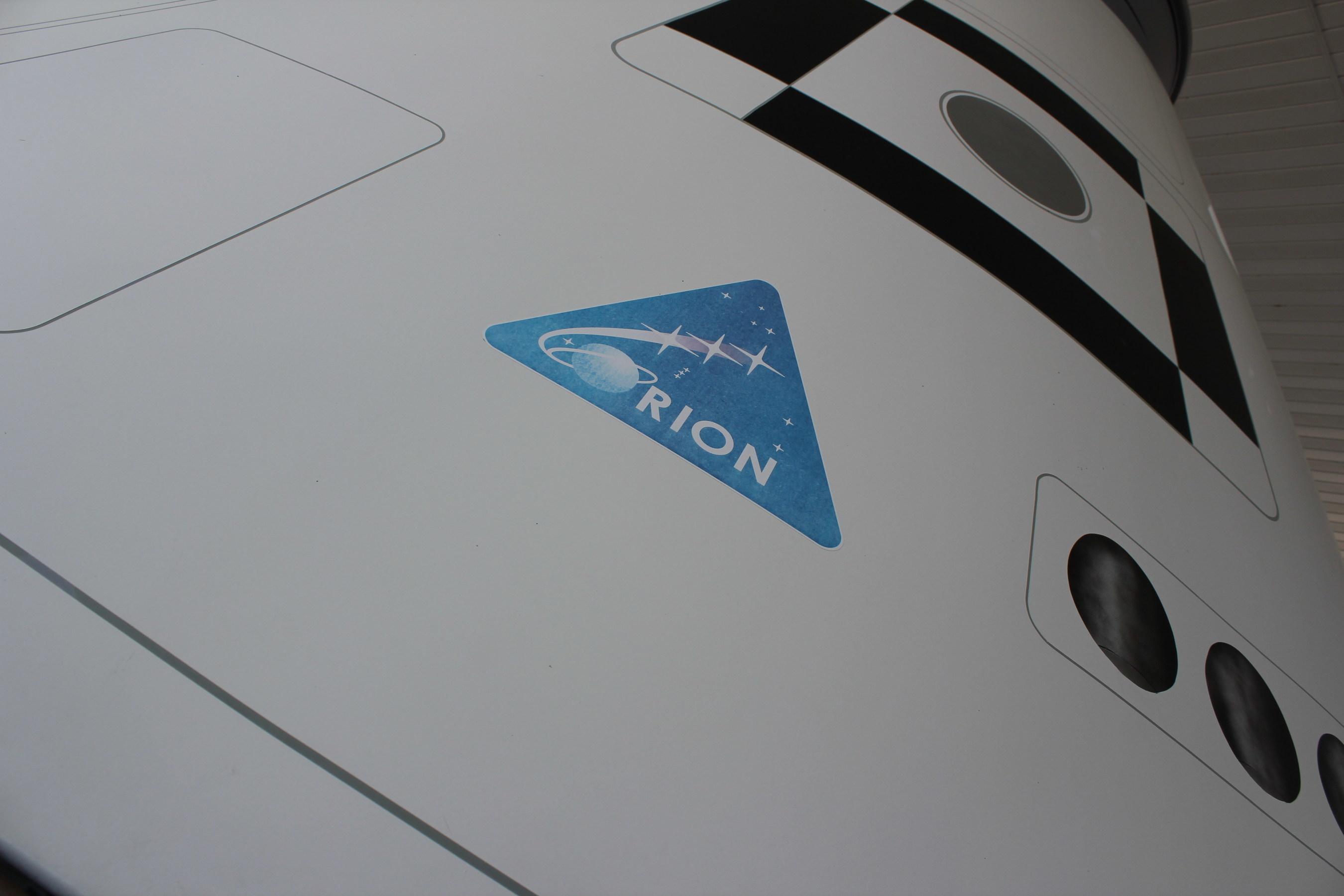 Logo on NASA Orion Spacecraft