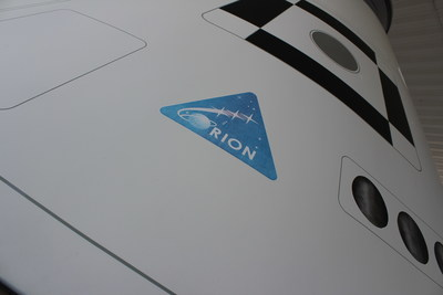 Logo on NASA Orion Spacecraft