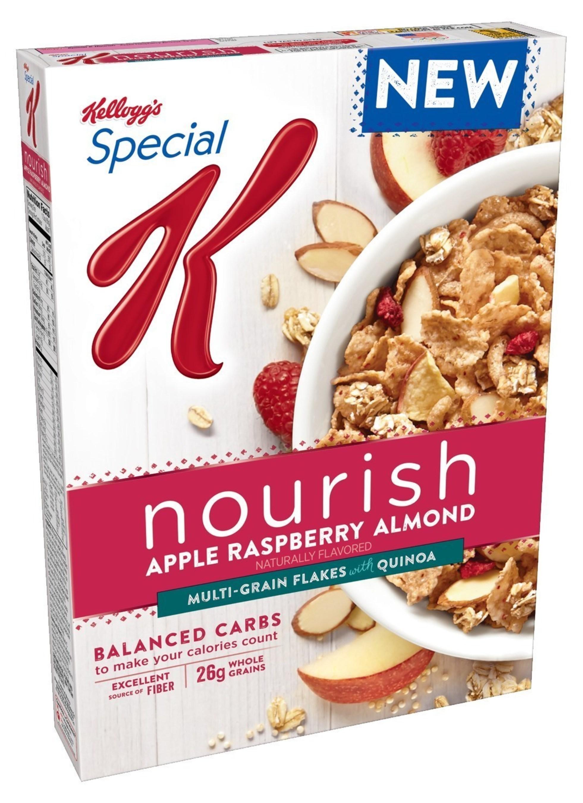 Kellogg's(R) Special K(R) Nourish Apple Raspberry Almond cereal