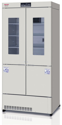 SANYO Adds New MPR Series Biomedical Refrigerator/Freezer Combination Unit