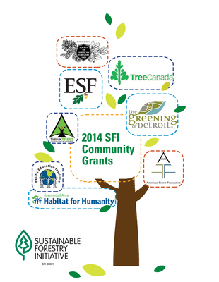 The Sustainable Forestry Initiative(R) (SFI(R)) Inc. announced at the Fortune Brainstorm Green conference today that it would provide eight community-based grant projects helping people - especially youth - get outside and reconnect with nature.  The Fortune Brainstorm Green conference is the premier conference on business, sustainability, and green investing. (PRNewsFoto/Sustainable Forestry Initiative)