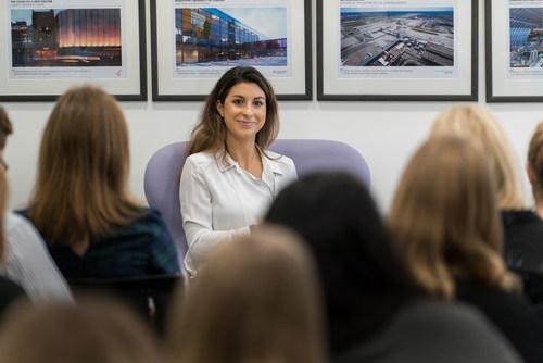 Angelica Malin, editor-in-chief at About Time Magazine (PRNewsFoto/Gorkana)