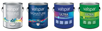 Valspar Paint launches the industry's only full lineup of zero-VOC interior paints, available at Lowe's.