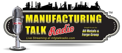 Manufacturing Talk Radio is The Voice of Manufacturing Globally, the only live B2B Internet broadcast talk radio show discussing manufacturing news, trends, challenges and forecasts each Tuesday morning at 1:00 p.m. EST for listeners from the shop floor to the C-Suite. Guests include government officials and industry experts that look at the ups and downs of manufacturing in America and other global manufacturing markets as the world becomes one marketplace. (PRNewsFoto/Manufacturing Talk Radio)