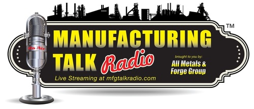 Manufacturing Talk Radio is The Voice of Manufacturing Globally, the only live B2B Internet broadcast talk radio show discussing manufacturing news, trends, challenges and forecasts each Tuesday morning at 1:00 p.m. EST for listeners from the shop floor  ...