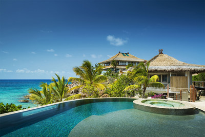 Moskito Island - Beach Villa Pool and View (PRNewsFoto/Virgin Limited Edition)