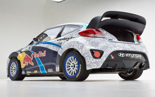 Hyundai And Rhys Millen Forge Formidable New Force To Compete In 2014 Global Rallycross Championship Series.  (PRNewsFoto/Hyundai Motor America)