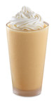 The Arby's(R) Pumpkin Cheesecake Shake is topped with whipped cream and features flavor notes of pumpkin spice, cheesecake and pie crust.