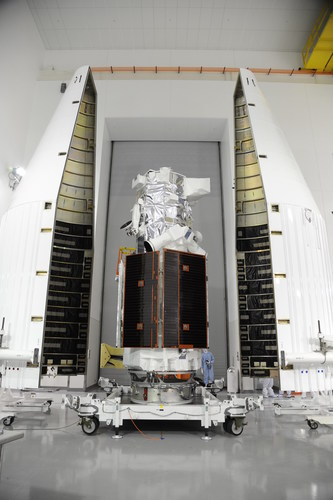 The Ball Aerospace, DigitalGlobe, Exelis and Lockheed Martin Commercial Launch Services team have successfully ...