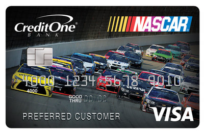 The official credit card of NASCAR