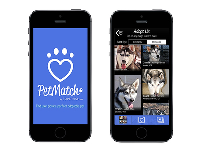 First-of-its-kind PetMatch App Uses Superfish Visual Search Technology To Help People Find A Picture Perfect Adoptable Pet In Their Area