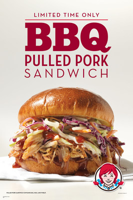 Where you find quality is where you find craftsmanship. Wendy's BBQ Pulled Pork sandwich and fries pay homage to the pit masters' craft with a premium, hickory-smoked pork shoulder that's finished with a choice of three custom-crafted sauces - sweet, smoky or spicy. The BBQ Pulled Pork Sandwich features the succulent pulled pork topped with cool, crunchy slaw on a toasted brioche bun and a choice of sauce. The BBQ Pulled Pork Cheese Fries feature natural-cut fries, with a topping of rich cheddar cheese sauce, pulled pork and diced red onions, topped with a choice of sauce.