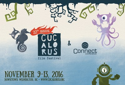 22nd Annual Cucalorus Film Festival and CONNECT Conference taking place in Wilmington, NC - November 9-13, 2016