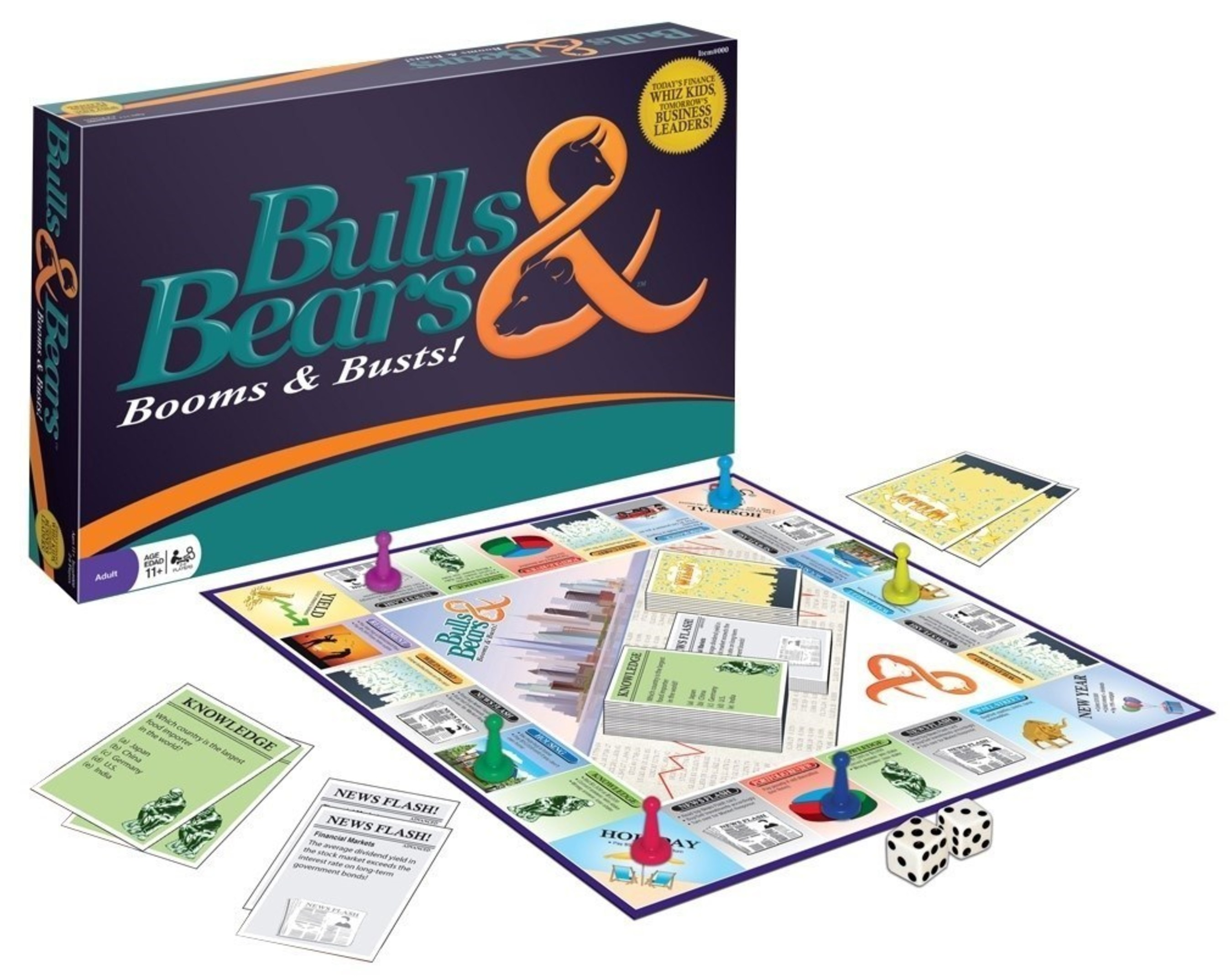 Bulls & Bears to Launch Innovative Financial Game at Toy Fair 2016