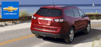 The 2014 Chevy Traverse maintains the big features of a full-size SUV with all the sporty drive of a smaller vehicle.  (PRNewsFoto/Mike Castrucci Chevrolet)
