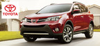 The 2015 Toyota Rav4 gets spruced up in the new year. (PRNewsFoto/Don Jacobs Toyota)