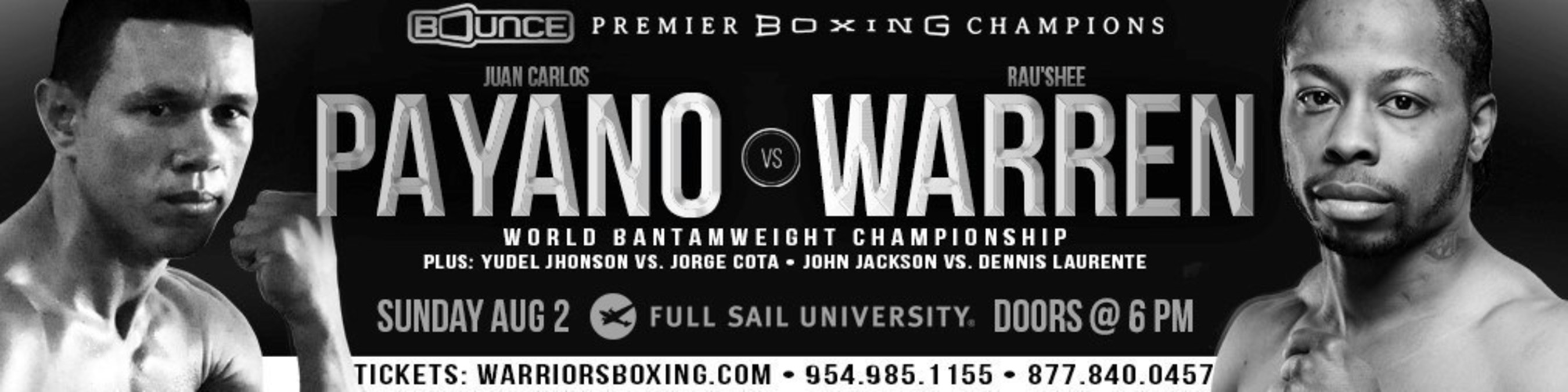 Premier Boxing Champions comes to Bounce TV on Sunday, August 2 at 9:00 p.m. (ET), with the debut of the new monthly series PBC - The Next Round, which will showcase the sport's future stars and potential champions. The network will also stream the telecast live on BounceTV.com, which will also have local channel location for the network.