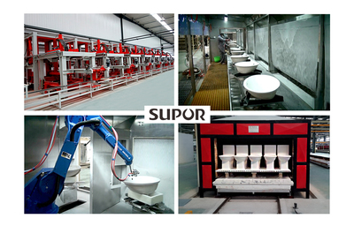 Automatic full ceramic production line of SUPOR