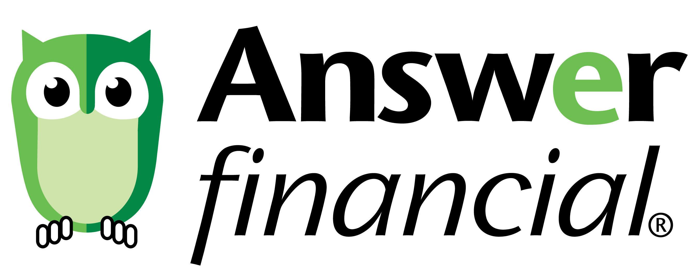 Answer Financial Logo.