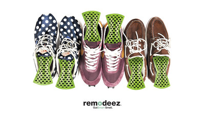 remodeez is an odorless and non-toxic solution to remove everyday odors in shoes and sports gear, luggage, automobiles and throughout the home.