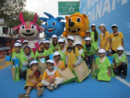 Pan American Games Teams up with Children International, a U.S. Charity, to Help Poor Children in
