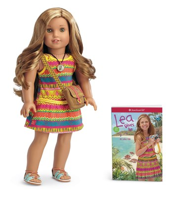 The new Lea doll and paperback book from American Girl.