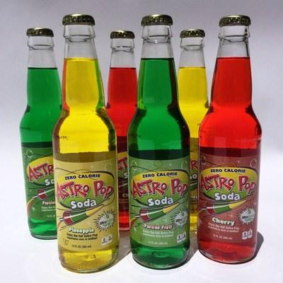 Astro Pop Sodas (PRNewsFoto/LEAF Brands, LLC)
