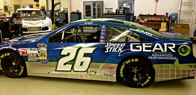 New Speed Stick(R) Gear(TM) Partners With Swan Racing Driver Cole Whitt.  (PRNewsFoto/Colgate-Palmolive)